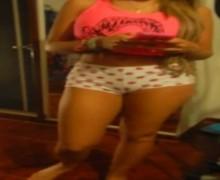 Sexy baile en pijama de Gisela Avendaño