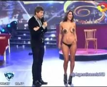 Andrea Rincon bailando Stripdance